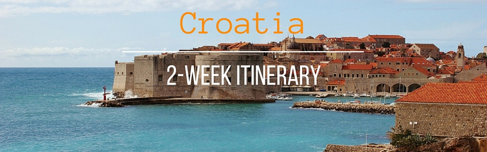 A 2-week itinerary for Croatia