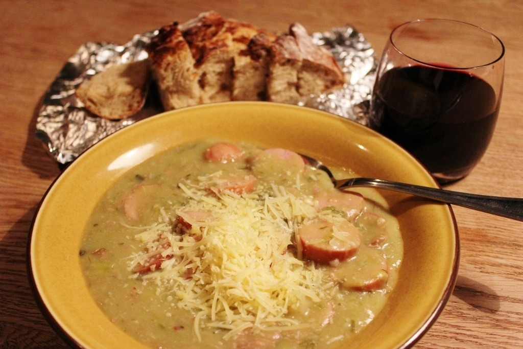Dutch Cuisine - Erwtensoep - Pea Soup JetSetting Fools