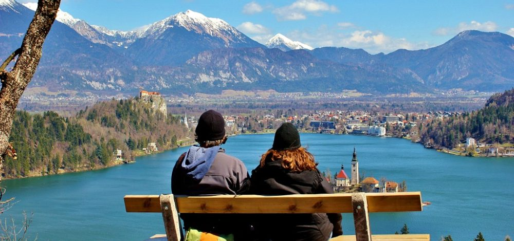 JetSettingFools Homepage Kris and Sarah Lake Bled Slovenia