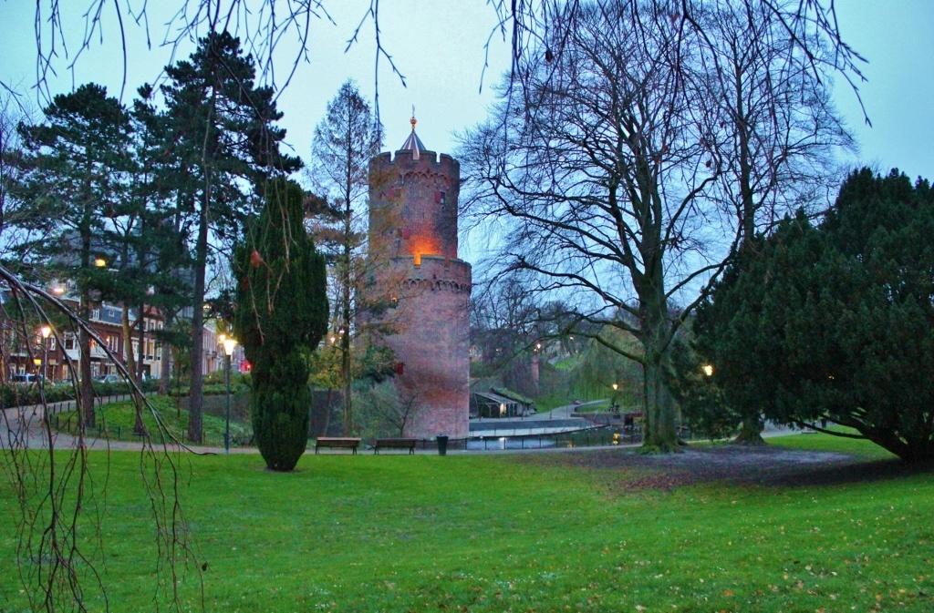 Nijmegen, Netherlands in Pictures Gun Powder Tower in Kronenburg Park JetSetting Fools