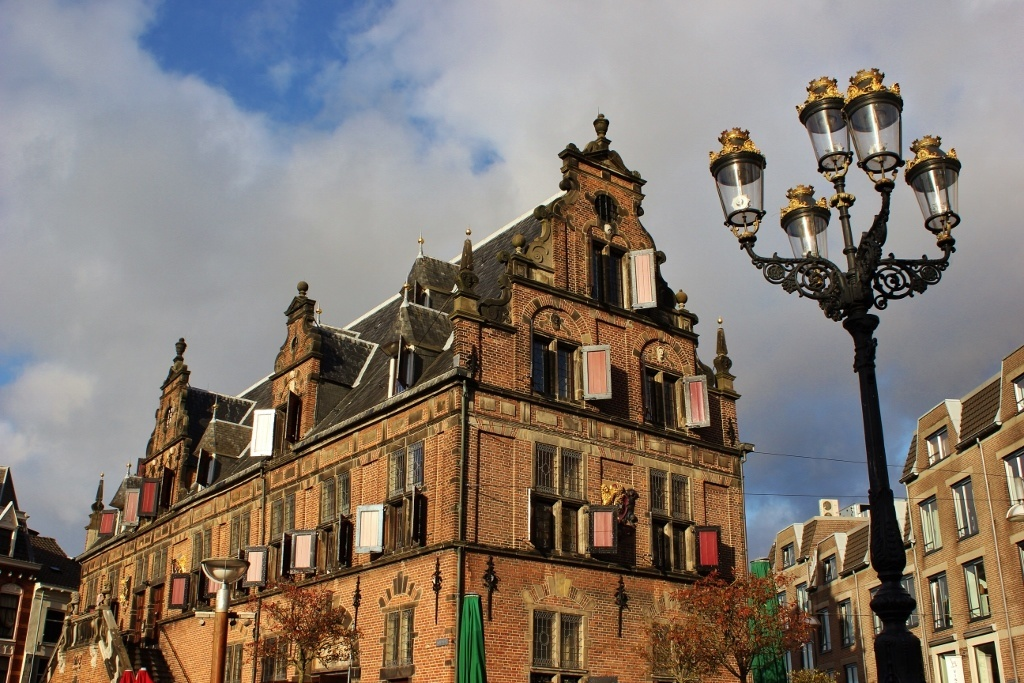 Nijmegen Netherlands in Pictures The Weigh House on Grote Markt JetSetting Fools