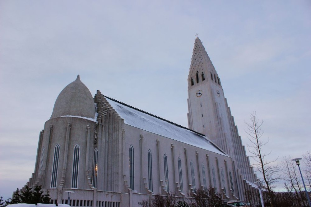 3-Day Itinerary for Iceland In Winter Hallgrimskirkja JetSetting Fools
