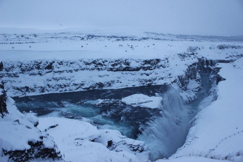 Iceland in Wintertime Gullfoss JetSettingFools