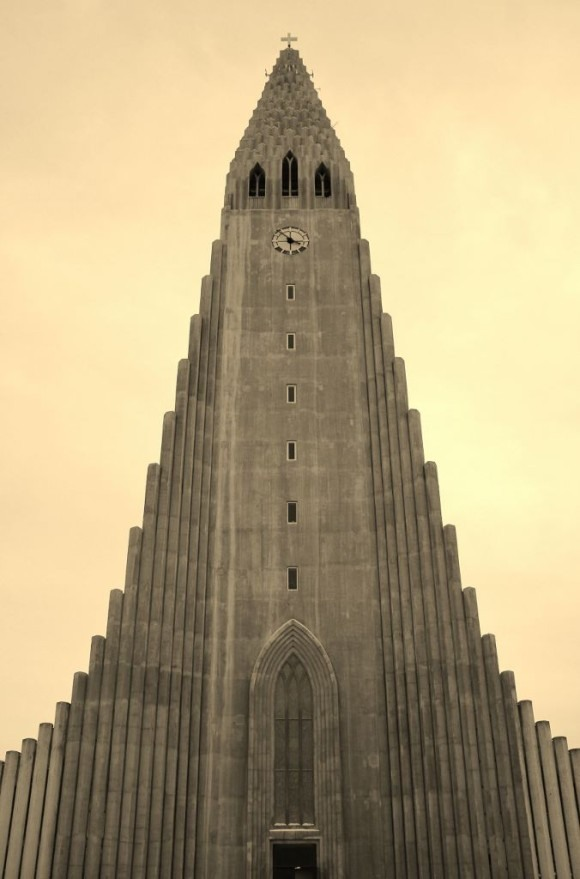 Iceland in Wintertime Hallgrimskirkja Church JetSettingFools