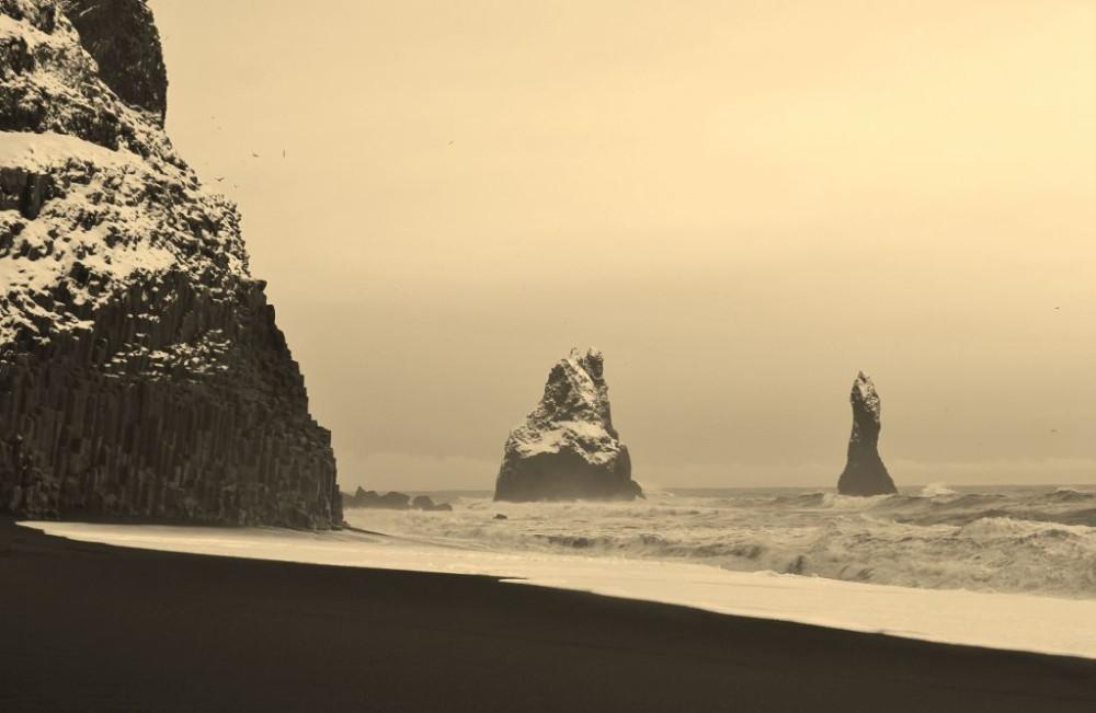 Iceland in Wintertime Reynisfjara Beach JetSettingFools