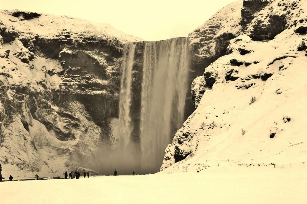 Iceland in Wintertime Skogafoss JetSettingFools