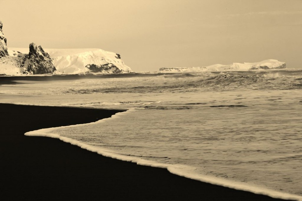 Iceland in Wintertime Vik Black Sand Beach JetSettingFools