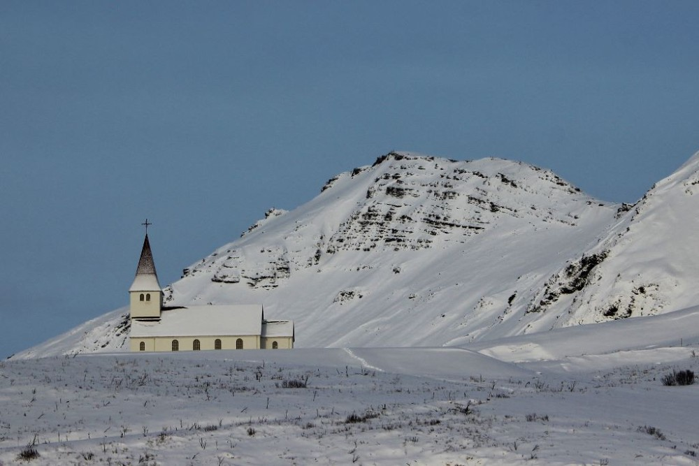 Iceland in Wintertime Vik Church JetSettingFpp;s