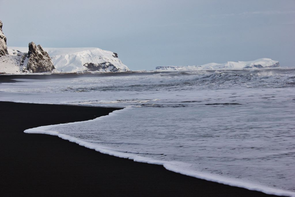 Iceland's South Coast Black Sand Beach Vik JetSetting Fools