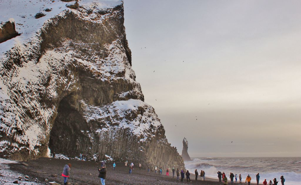 Iceland's South Coast Reynisfjara Beach JetSetting Fools