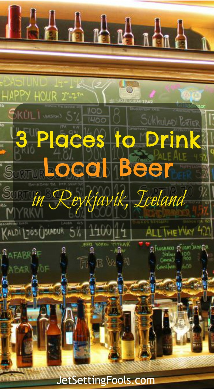 Places to drink local beer in Reykjavik Iceland JetSetting Fools
