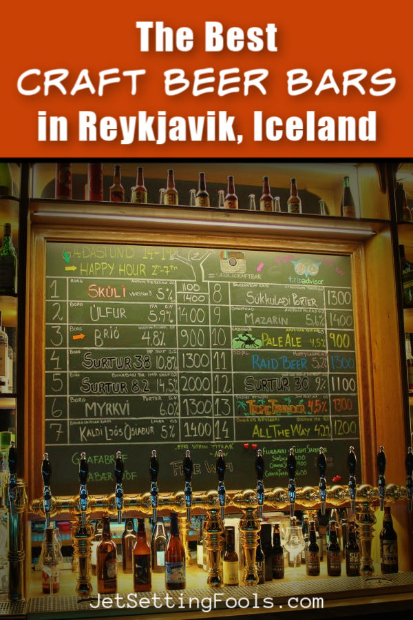 The Best Craft Beer Bars in Reykjavik, Iceland by JetSettingFools.com