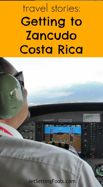 Getting to Zancudo, Costa Rica via Sansa Air Cessna 208 JetSetting Fools