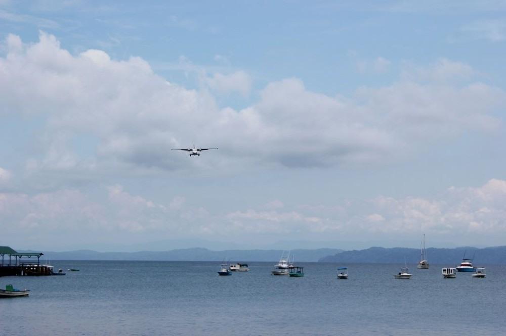 Osa Peninsula Puerto Jimenez Plane Approach