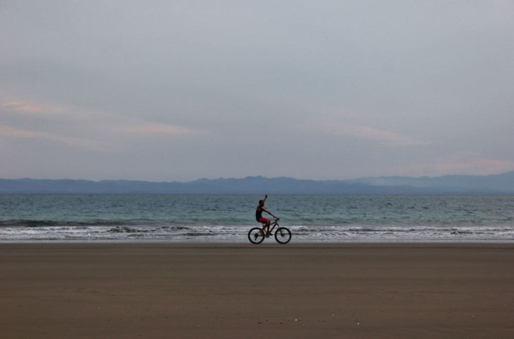 Zancudo, Costa Rica Bicycle on Beach JetSetting Fools