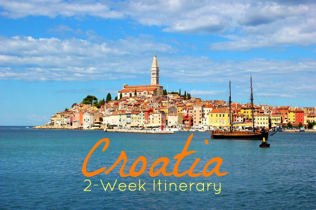 Croatia 2-Week Itinerary JetSettingFools.com