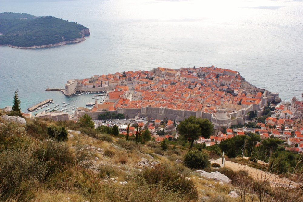 2-week Croatia Itinerary Dubrovnik from Mount Srd JetSetting Fools