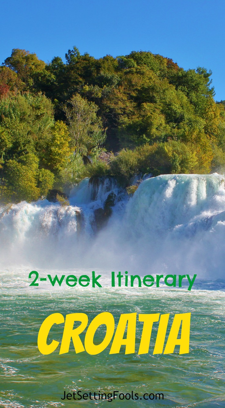 2-week Croatia Itinerary Krka JetSetting Fools