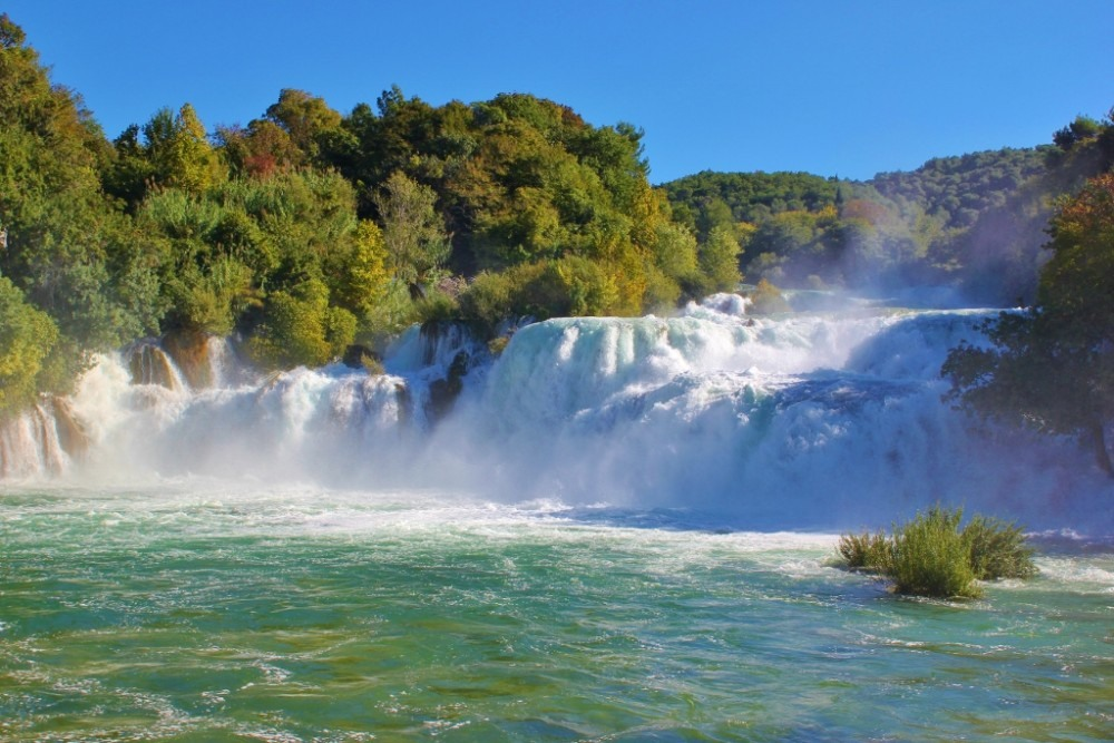 Krka National Park in Skradin, Croatia