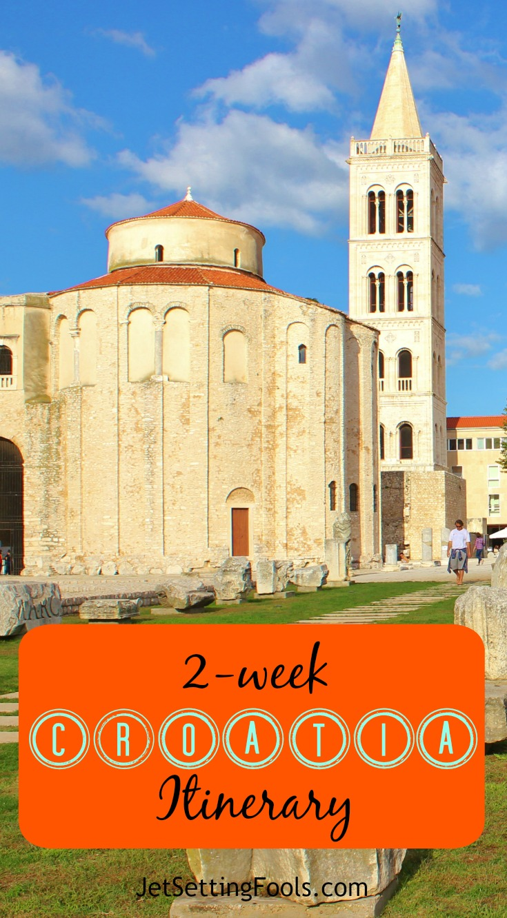 2-week Croatia Itinerary Zadar JetSetting Fools