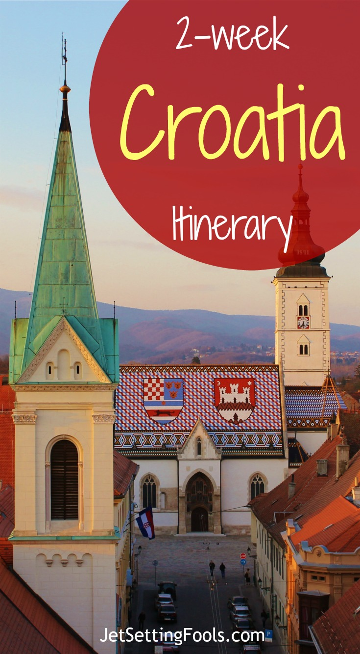 2-week Croatia Itinerary Zagreb JetSetting Fools