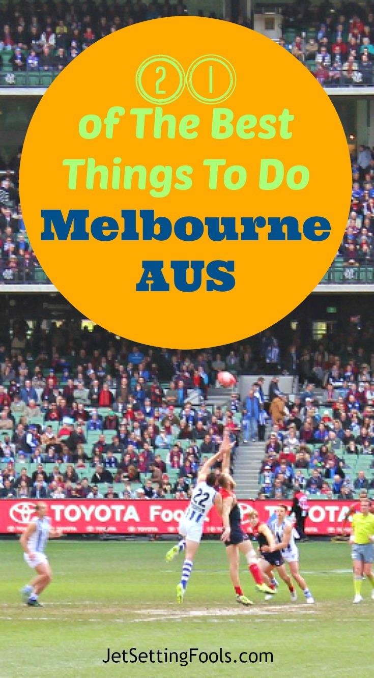 21 of the Best Things to Do in Melbourne, Australia - Australian Football Pin JetSetting Fools