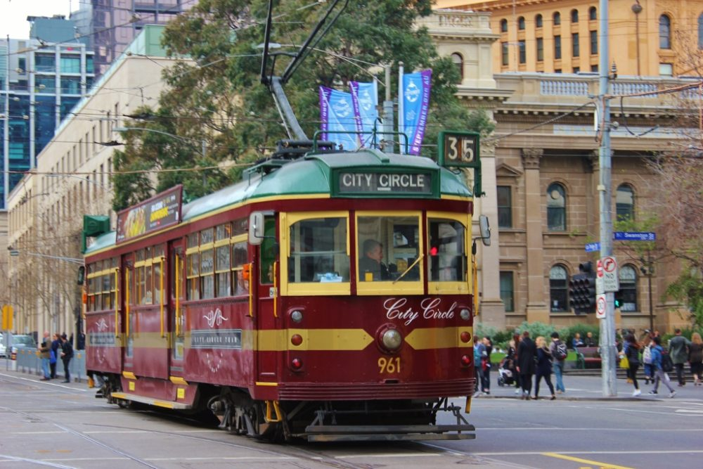 Best Things To Do In Melbourne, Australia - Ride the Free City Circle Tram #35 JetSetting Fools