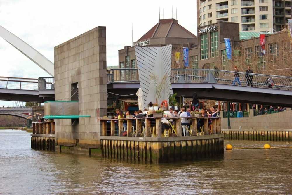 Best Things to Do in Melbourne, Australia - have a drink on Ponyfish Island JetSetting Fools