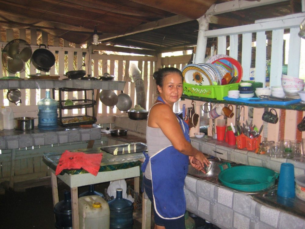 Boating in Zancudo, Costa Rica Punta Renitas Restaurant Kitchen JetSetting Fools