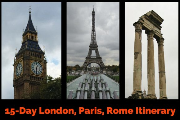 15-Day London, Paris, Rome Itinerary by JetSetting Fools