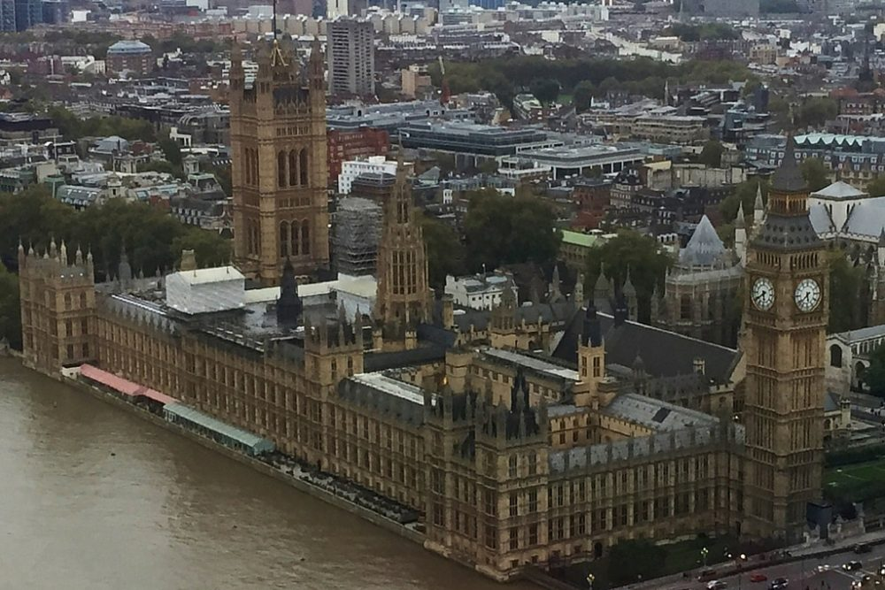15-Day London Paris Rome Itinerary London Parliament Big Ben City View from London Eye