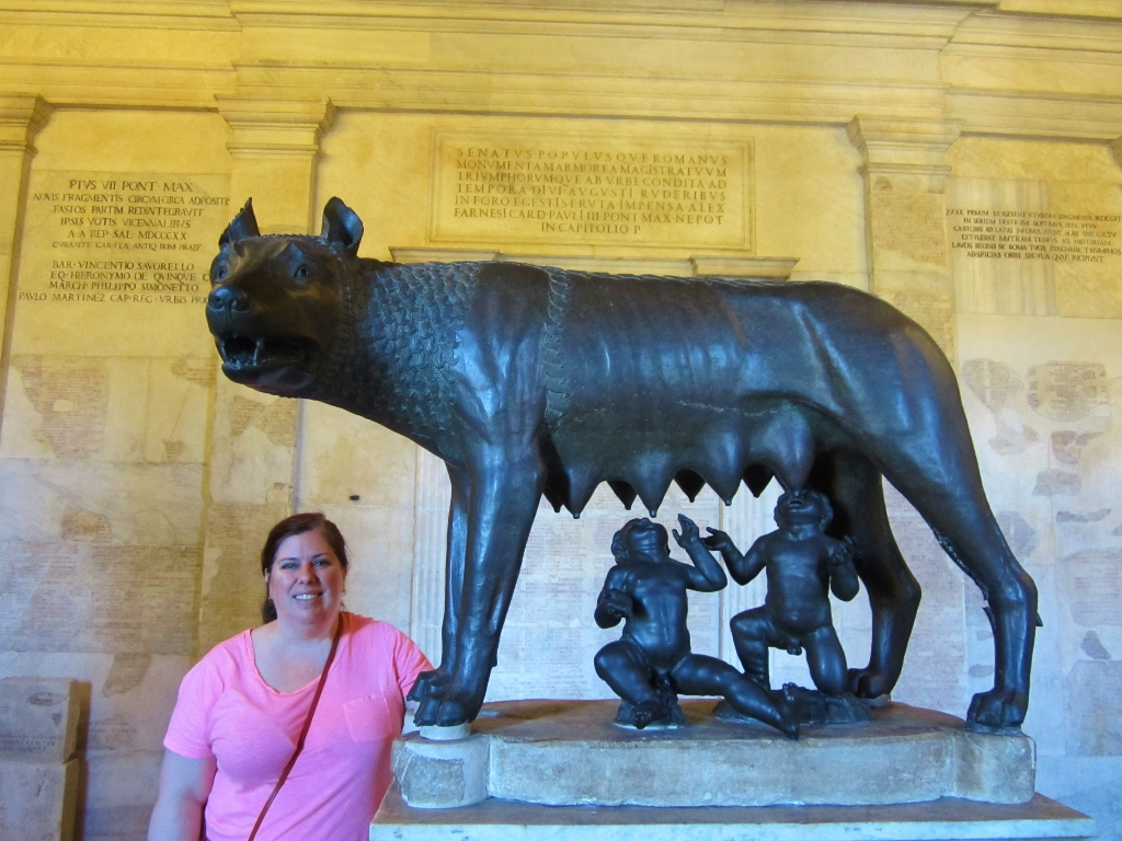 15-Day London Paris Rome Itinerary Rome Capitoline Museum She-Wolf Statue