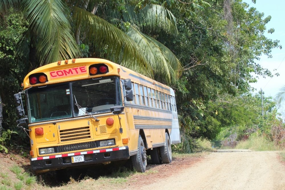 Two-Year Travel Budget local transportation by Bus in Costa Rica JetSettingFools.com