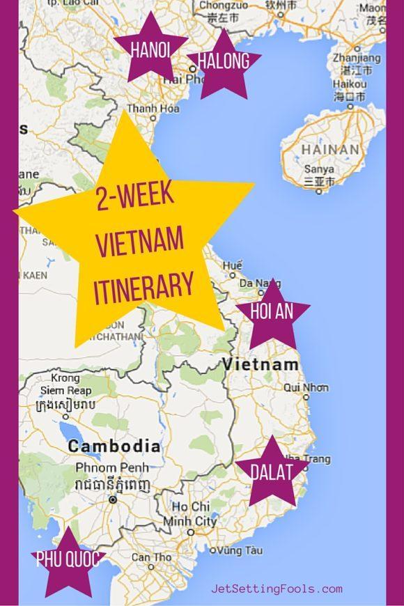 2-Week Vietnam Itinerary - Jetsetting Fools