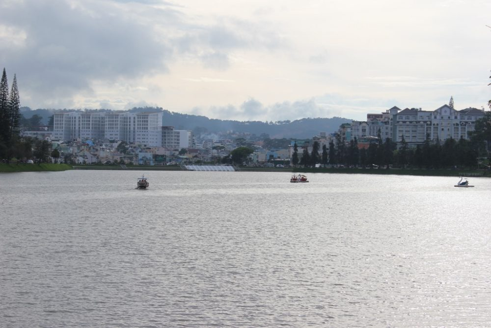 Our 2-week Vietnam Itinerary includes a stop at the Xuan Huong Lake in Dalat