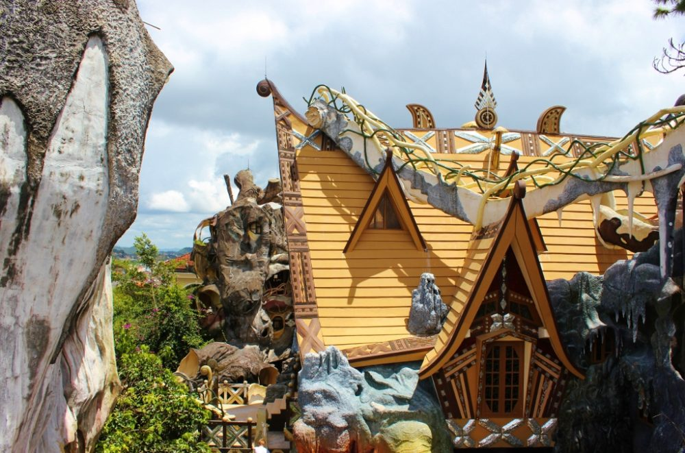 The Hang Nga Crazy House in Dalat is a stop on our 2-week Vietnam Itinerary