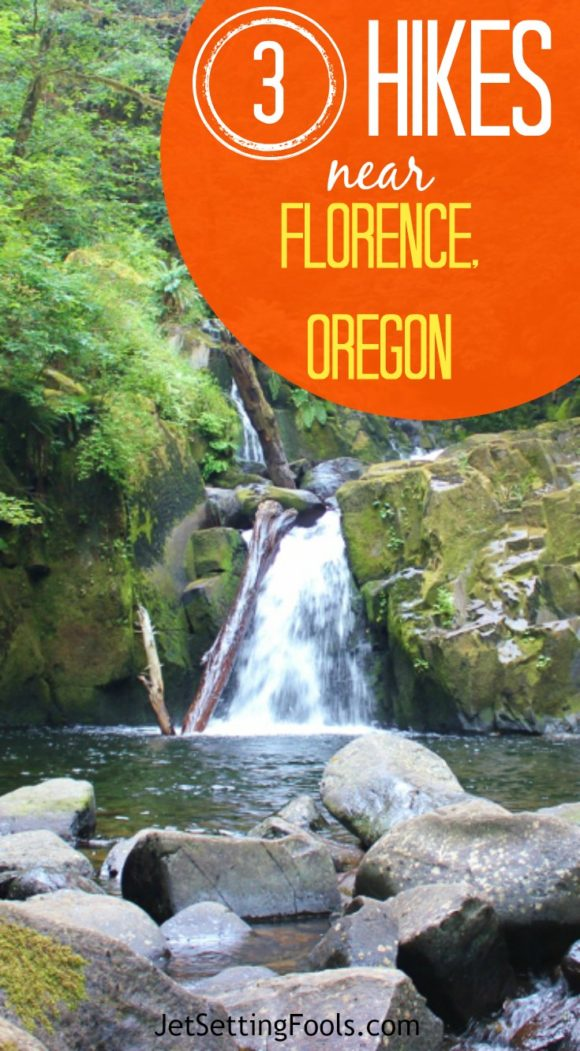 Three Hikes Near Florence, Oregon, including Sweet Creek Falls Trail