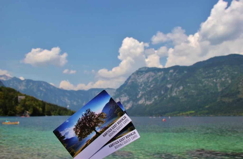 Discounts with Bohinj Guest Card for Lake Bohinj, Slovenia