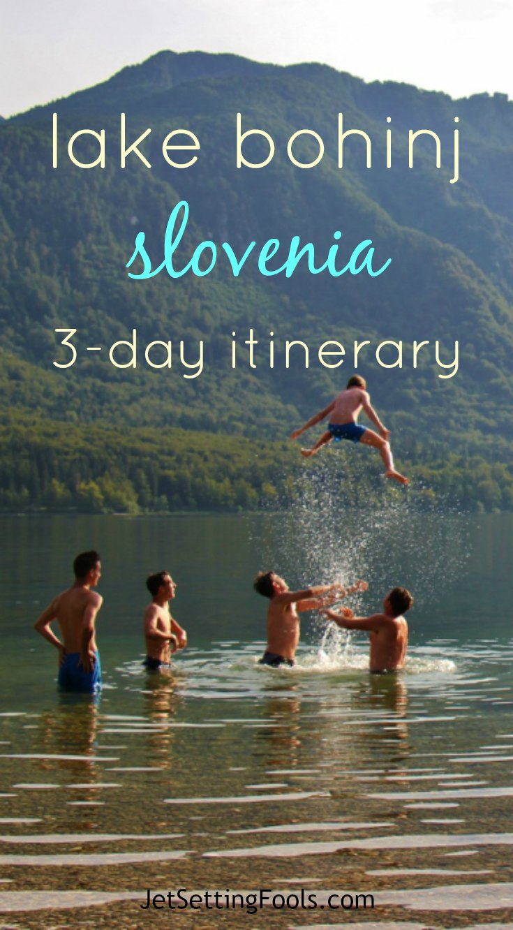 Lake Bohinj, Slovenia 3-day itinerary