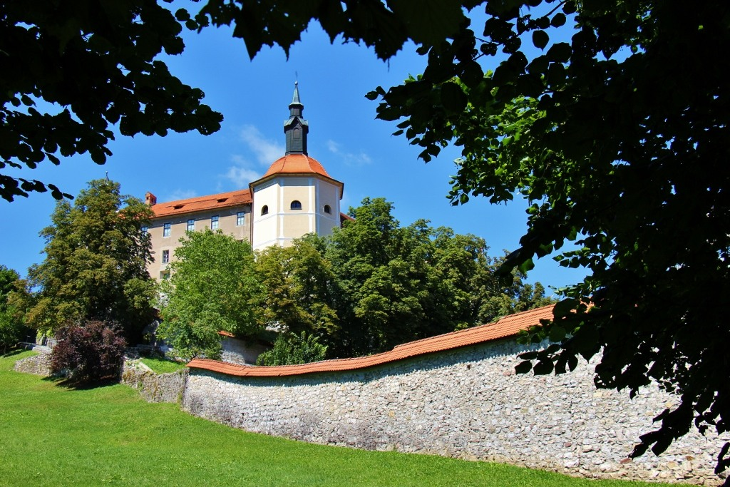 The Castle of Skofja Loka and Town Walls are two sights in Skofja Loka