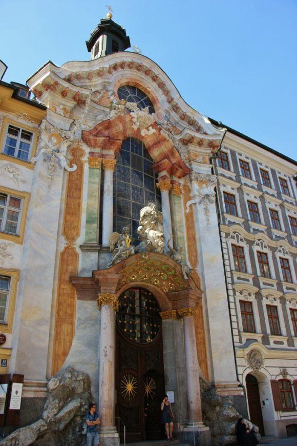 Sightseeing on a Layover in Munich Asamkirche St. Johann Nepomuk Church JetSettingFools.com
