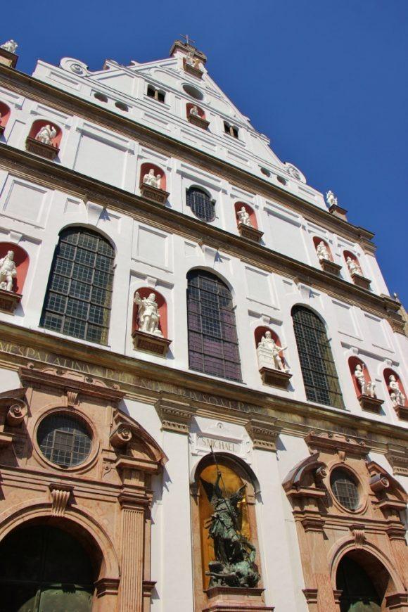 Sightseeing on a Layover in Munich Michaelskirche St. Michael's Church JetSettingFools.com