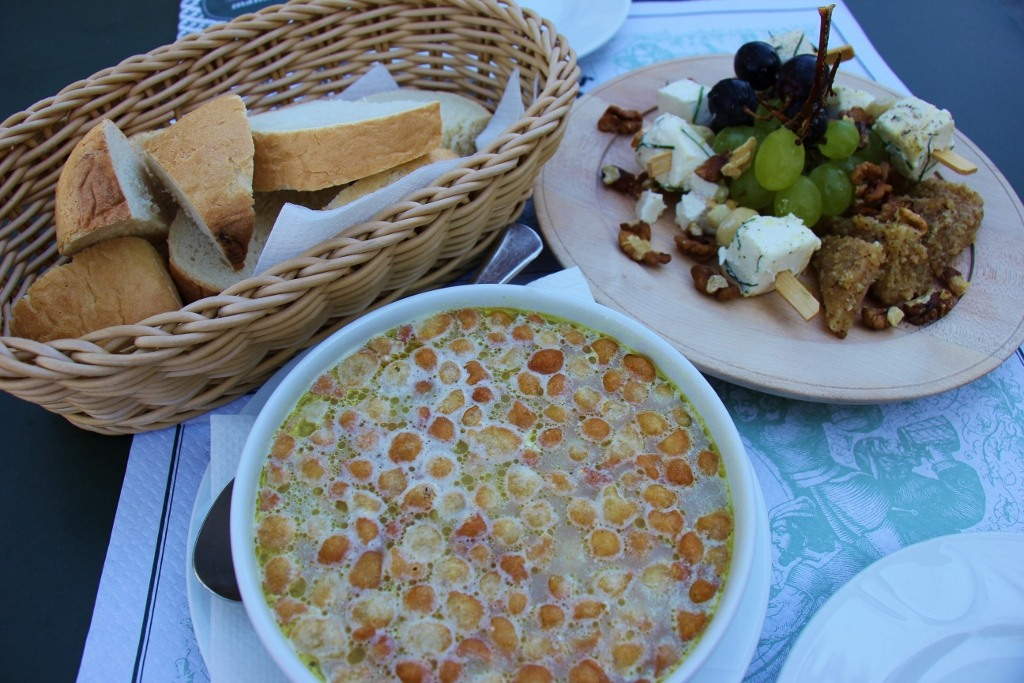 beer-soup-cheese-platter-gostilna-mahnic-at-skocjan-caves-slovenia