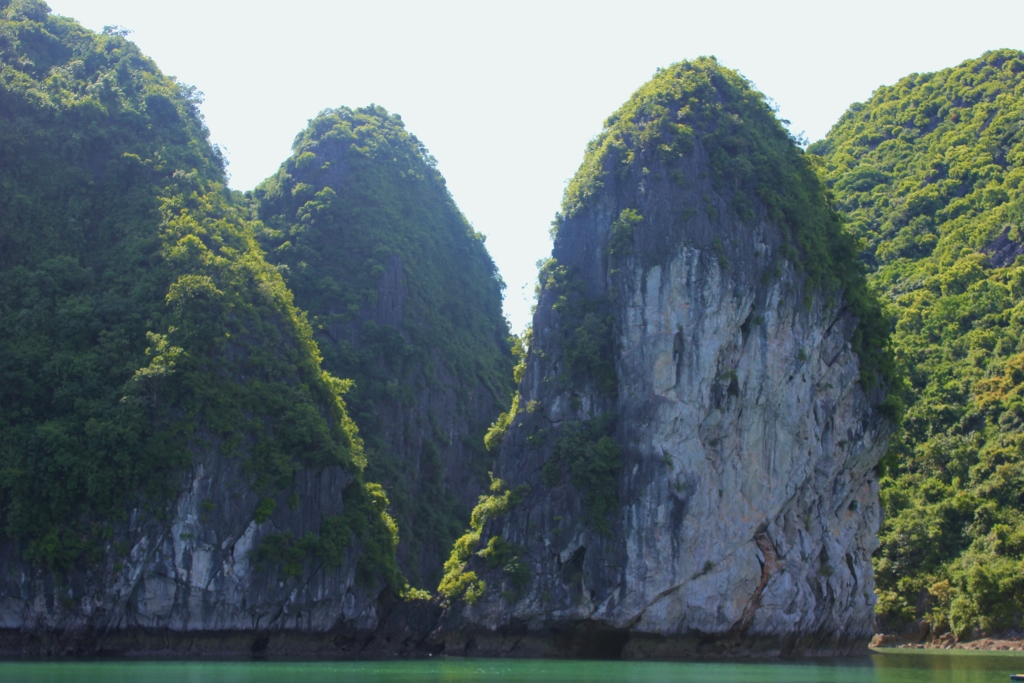Towering karsts on Halong Bay, Vietnam