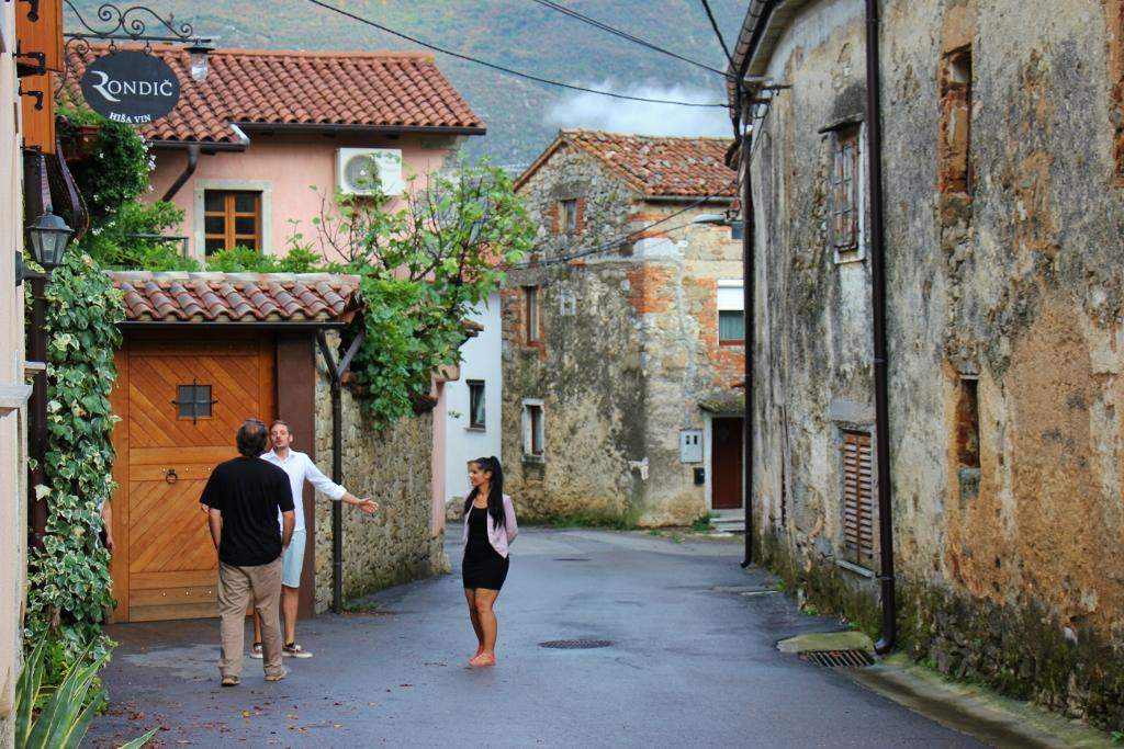 Hisa Vin Rondic in Slap, Slovenia