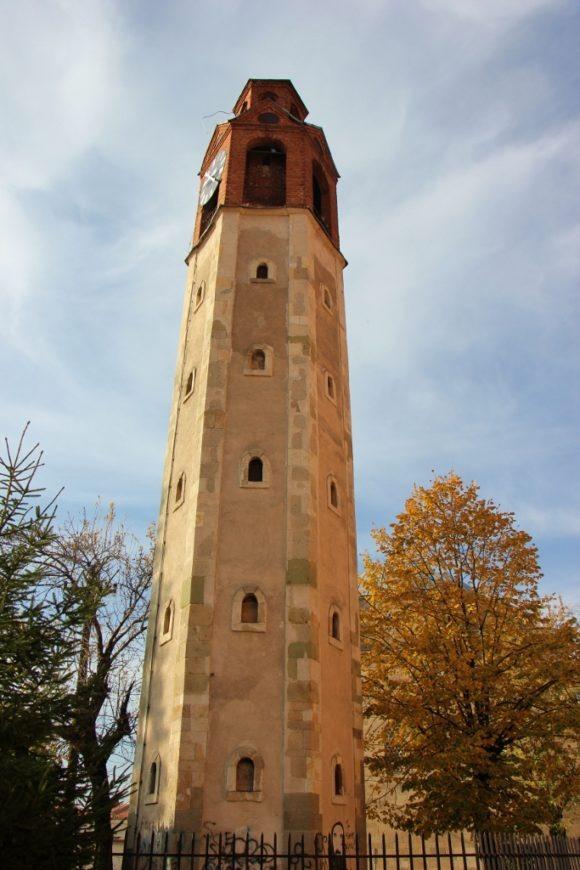 Old Clock Tower in Prishtina, Kosovo
