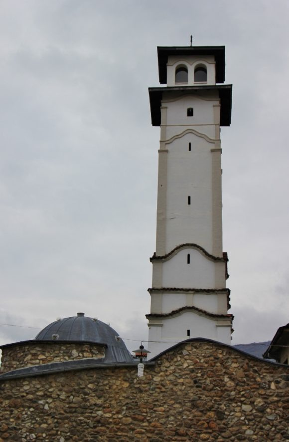 Old Clock Tower and Archeological Museum in Prizren, Kosovo