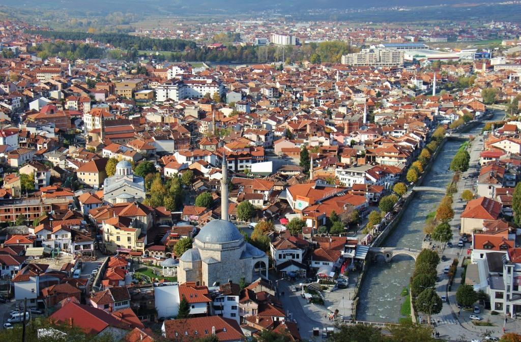 City View of Prizren, Kosovo