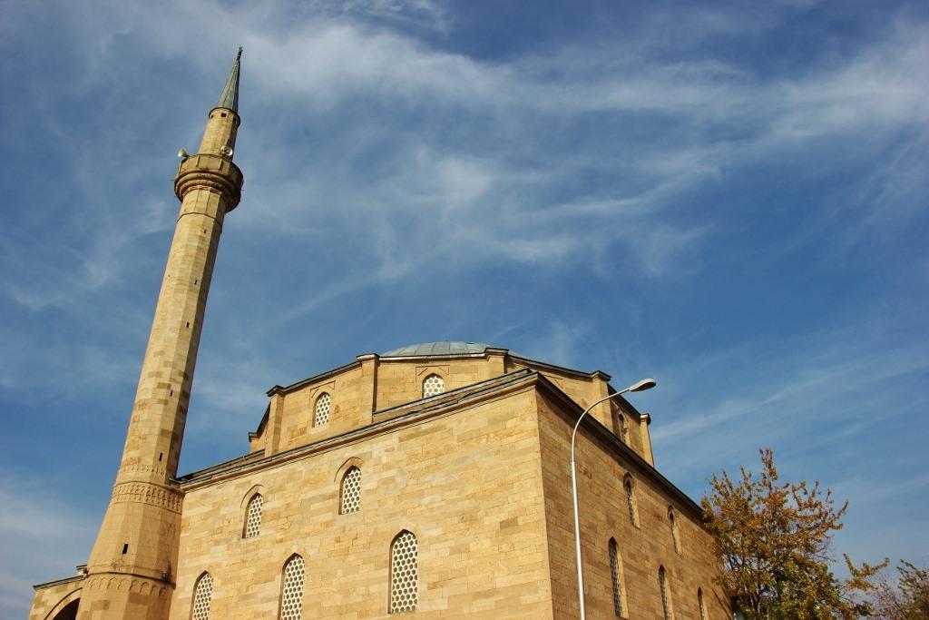 Xhamia e Mbretit Mosque in Prishtina, Kosovo