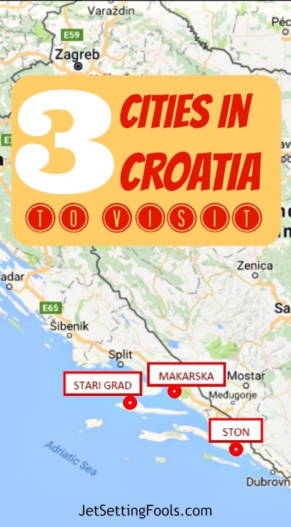 3 cities in Croatia to visit